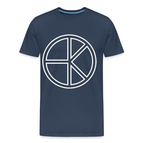 MK1 Logo Weiß - Männer Premium T-Shirt