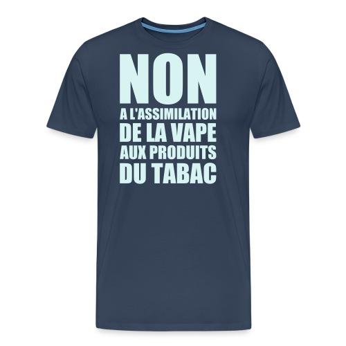 tshirt non fr 1 exp - T-shirt Premium Homme