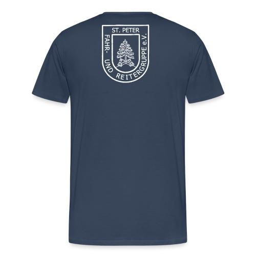 FURG_Logo_weiß_2 - Männer Premium T-Shirt