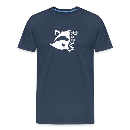 Raccon, Waschbär - Männer Premium T-Shirt