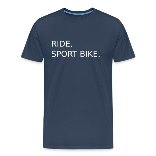 RIDE. SPORT BIKE. 0SB12 - Men's Premium T-Shirt
