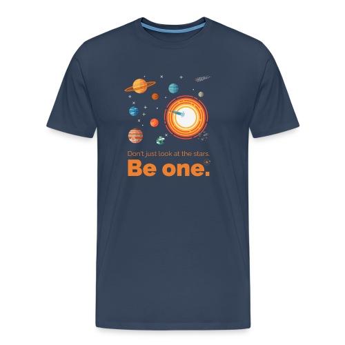 Be a star - dark edition - Männer Premium T-Shirt