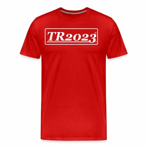 TR2023 #TR2023 - Logo in weiß - Männer Premium T-Shirt