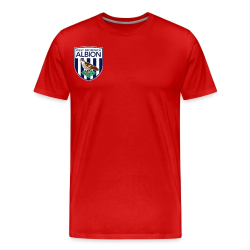 West Bromwich Albion Official Merchandise - Men's Premium T-Shirt