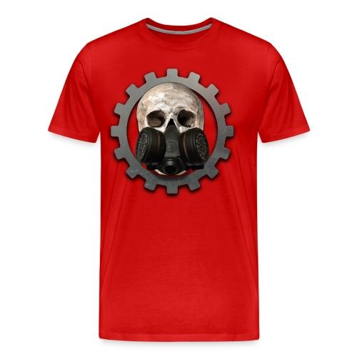 EBM - ELECTRONIC BODY MUSIC DEATH HEAD RESPIRATOR - Men's Premium T-Shirt