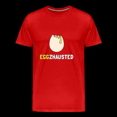 EGGZHAUSTED - T-shirt Premium Homme