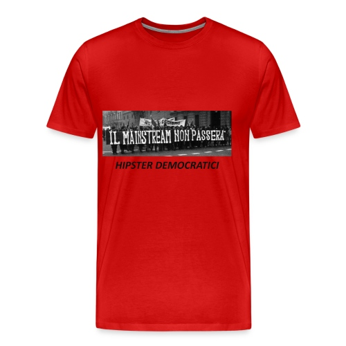 MAINSTREAM NERA - Maglietta Premium da uomo
