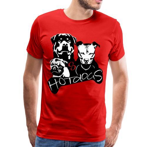 HotdogS - Männer Premium T-Shirt