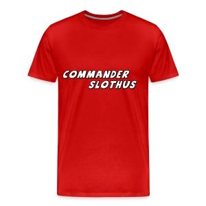 CommanderSlothus Logo - Men's Premium T-Shirt