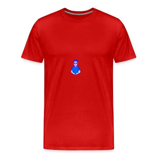 0E320621 5D82 4F85 8C41 7FB340F0647C - Herre premium T-shirt