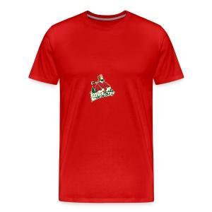 Lumberjacks Logo - Premium-T-shirt herr