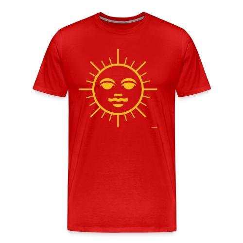 Sun Face - Men's Premium T-Shirt