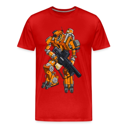 System Reboot Podcast Robot - Men's Premium T-Shirt