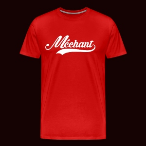 mechant_logo_white - T-shirt Premium Homme