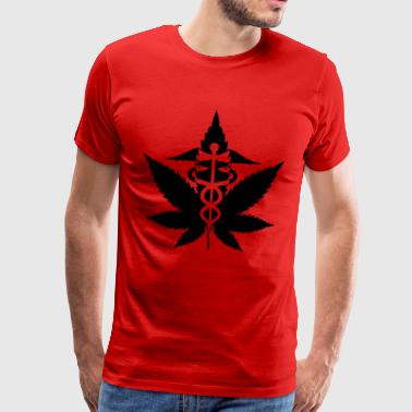 caduceus herbétique - Premium-T-shirt herr
