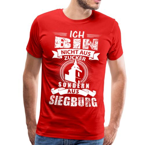 Ich bin nicht aus Zucker Part II - Männer Premium T-Shirt