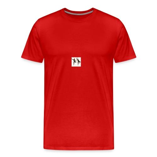 on the dabbing grind - Men's Premium T-Shirt