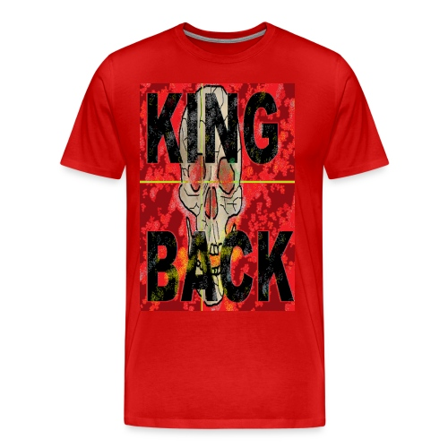 KING BACK - Männer Premium T-Shirt