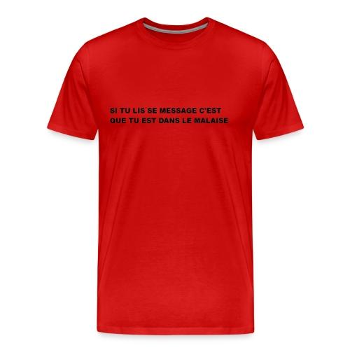 la réalité - T-shirt Premium Homme