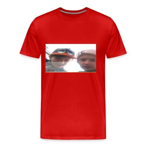 Mikael og Truls - Premium T-skjorte for menn