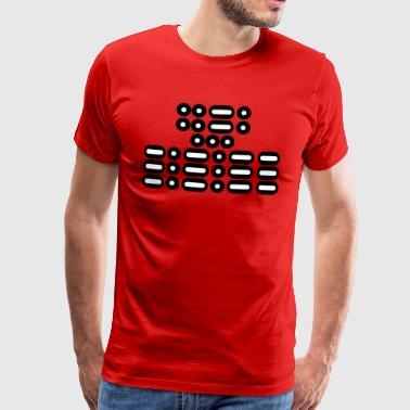 FFS !!! (biało-czarny) - Koszulka męska Premium