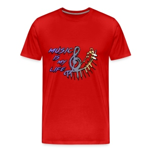 Music is my life - Dames Shirt - Mannen Premium T-shirt