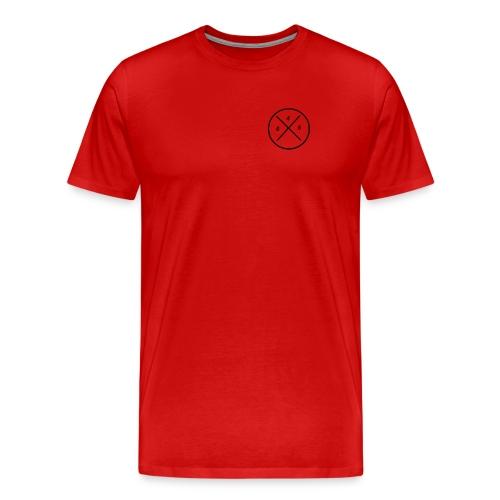 045 logo - Mannen Premium T-shirt