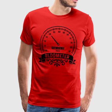 50-årsdag Oldometer tröja Rolig gåva - Premium-T-shirt herr