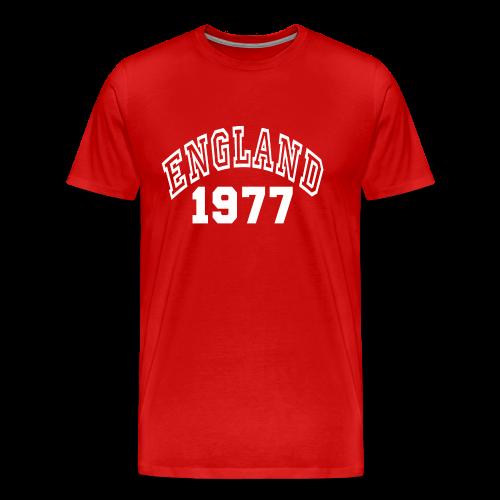 England - Camiseta premium hombre