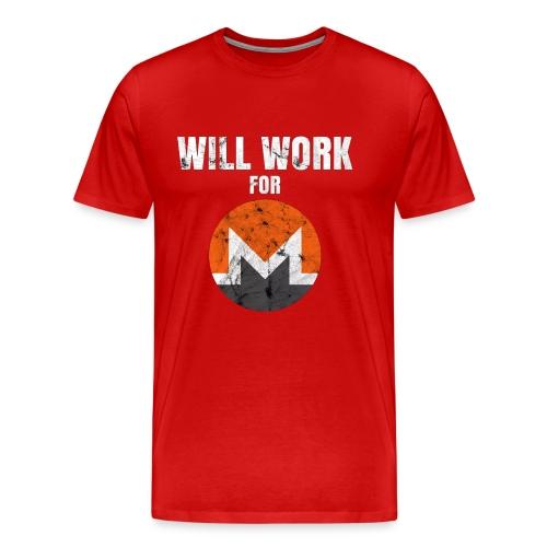 XMR T-Shirt - Männer Premium T-Shirt