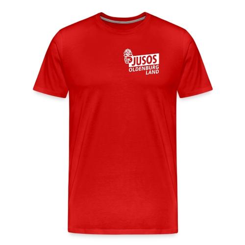 Jusos OL weiß - Männer Premium T-Shirt