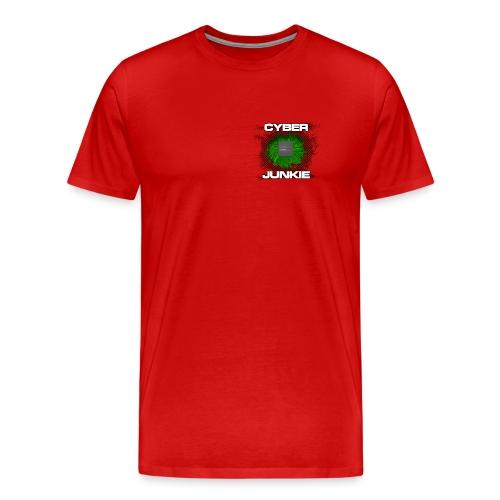 Cyber Junkie - Cyberpunk ist keine Zukunftsmusik - Männer Premium T-Shirt