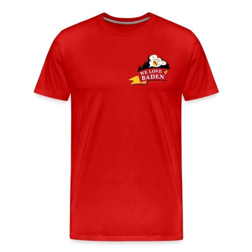 Badisch Gschwätz - Bei uns wird badisch g´schwätzt - Männer Premium T-Shirt