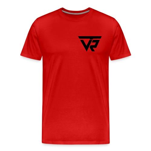 TVR Logo schwarz - Männer Premium T-Shirt