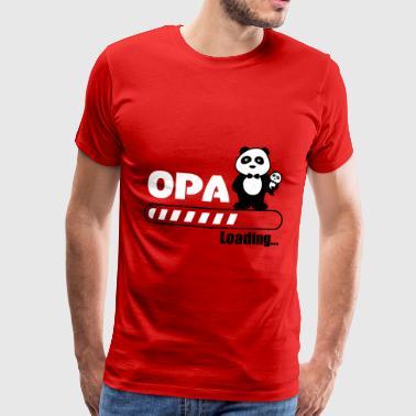 Opa loading - Männer Premium T-Shirt