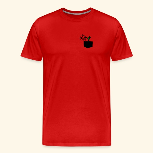 rose cube - T-shirt Premium Homme