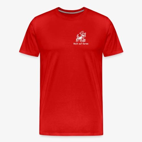 Bock auf Kerwe - Männer Premium T-Shirt