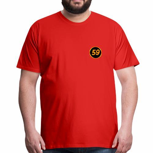 aake59 logo - Premium-T-shirt herr