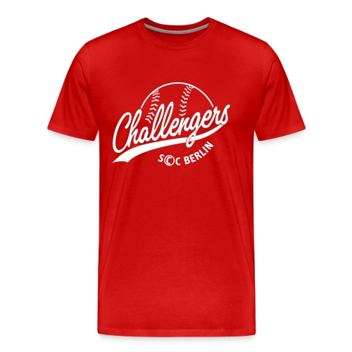 Challengers Logo - Männer Premium T-Shirt