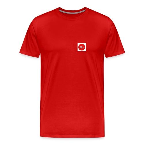 Brand%New red logo - Premium-T-shirt herr