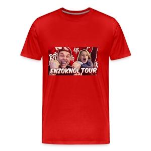 EnzoKnol Tour - Mannen Premium T-shirt