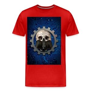EBM - ELECTRONIC BODY MUSIC - ELECTRO HEAD - Men's Premium T-Shirt