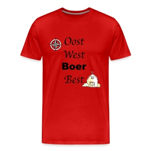 Oost West Boer Best - Mannen Premium T-shirt