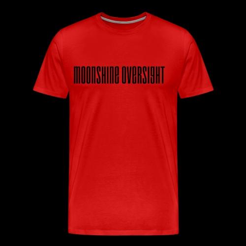 Moonshine Oversight logo - T-shirt Premium Homme