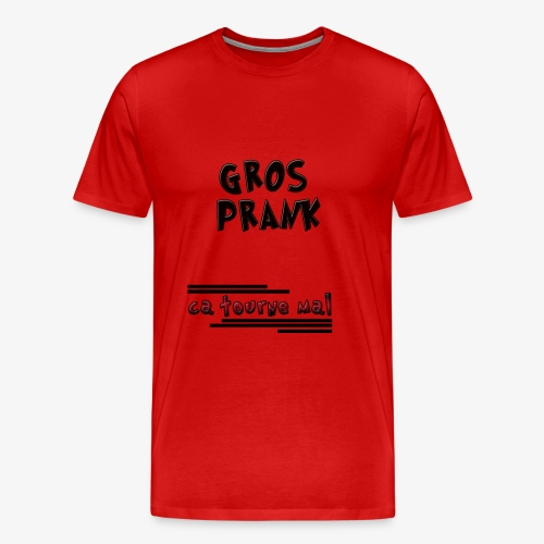youtube prank - T-shirt Premium Homme