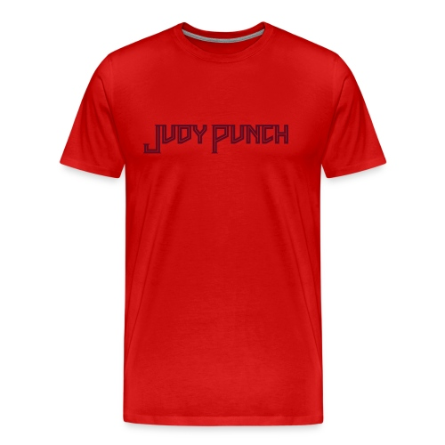 Judy Punch text - Men's Premium T-Shirt