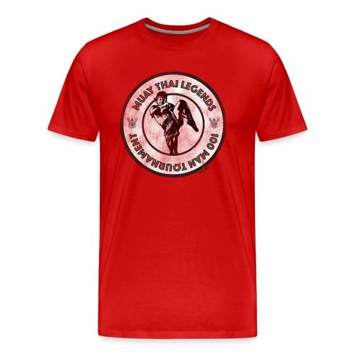 Muay Thai 100 Man Tournament - Men's Premium T-Shirt