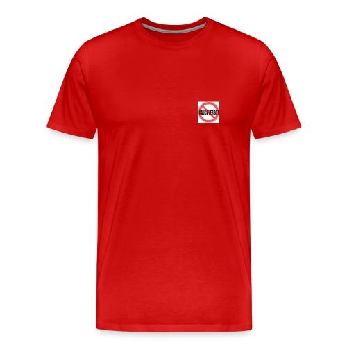 Gegen Rauchverbot Logo - Männer Premium T-Shirt