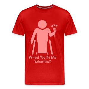 Valentine2 - Mannen Premium T-shirt