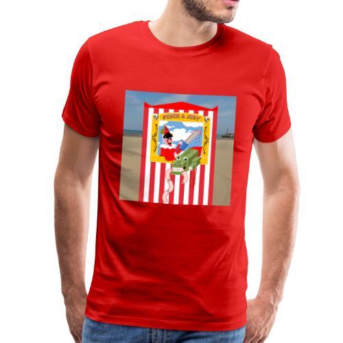 Punch and Judy - Men's Premium T-Shirt